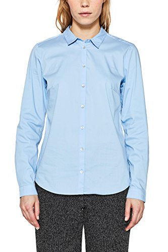 Camicia Blu 440 Donna ESPRIT Light Blue EHd4UB