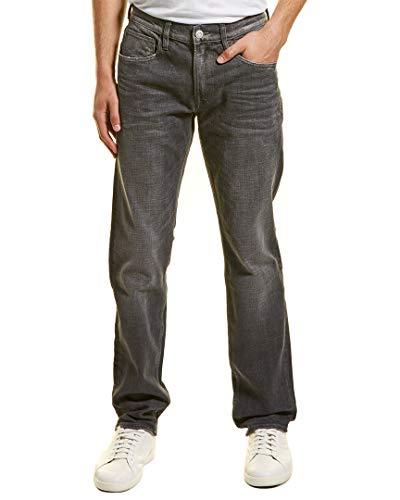 Hudson Jeans Men's Byron Straight Leg Zip Fly Jeans, Lenox, 34