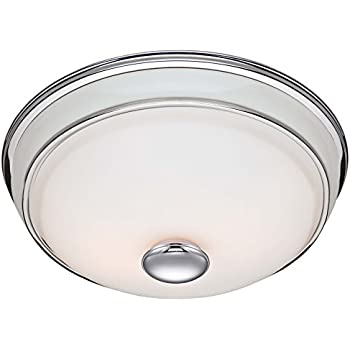 Hunter 81021 Ventilation Victorian Bathroom Exhaust Fan And Light  Combination, Silver (Bathroom Vent Fan