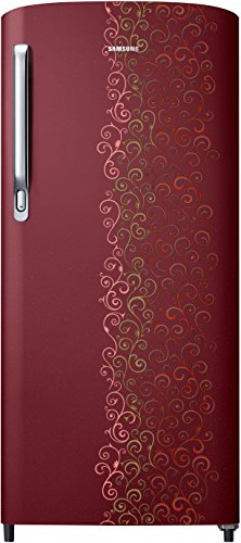 Samsung RR19M2712RJ/RR19M1712RJ Direct-cool Single-door Refrigerator (192 Ltrs, Royal Tendril Red)