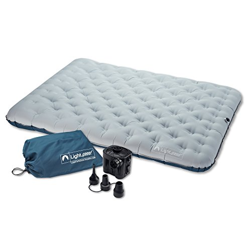 Inflatable Camping Mattress (Light Speed Tranquilite 2-Person Air Bed)
