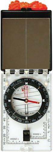 Ultimate Survival Technologies Folding Map Compass Black