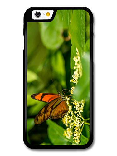 Beautiful Butterfly on Leaves Nature Wild Green Photography case for iPhone 6 6S