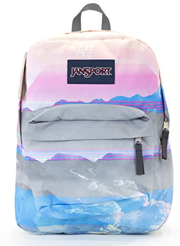 Jansport Superbreak Backpack (multi linear skies)