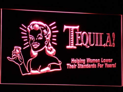 ADVPRO Cartel Luminoso j016-r Tequila Bar Beer Light Sign ...