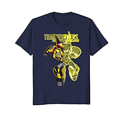 Transformers Robots In Disguise Blueprint Grid T-Shirt