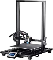 Monoprice MP10 3D Printer - Black with (300 x 300 mm) Magnetic Heated Build Plate, Resume Printing Function, A