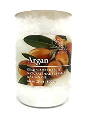 Natural Dead Sea Bath Salts With Argan Oil From Israel