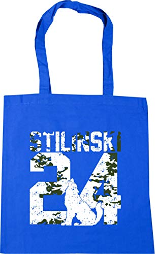42cm Cornflower Beach Shopping x38cm litres HippoWarehouse 10 Bag 24Tote Blue Gym Stilinski wYFRZF