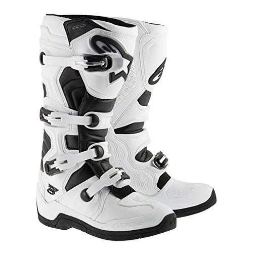 Alpinestars Tech 5 Boots-White/Black-10 ()