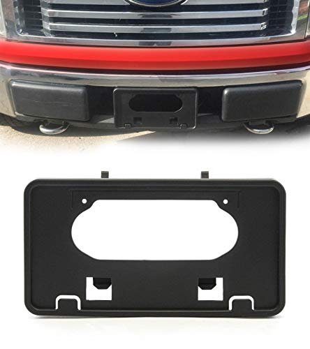 - Front Bumper License Plate Mounting Bracket Frame Holder for Ford 2009-2014 F150