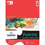 CANSON Foundation Disposable Palette with Hole Pad, 9 x 12'', 40 Sheets by Canson