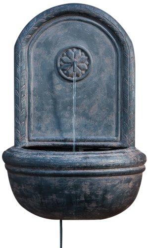 Alfresco Home Resin Cologne Outdoor Wall Fountain