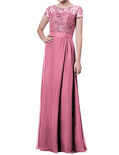 Wedding Party Sleeves Formal with JAEDEN Dress Pink for Dress Mother The Baby Evening of Bride Gown xww7PSqY