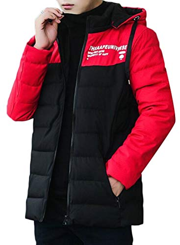 Packable Down EKU Black Weight Hooded Puffer Block Jacket Light Men's Color rrPx8w5q