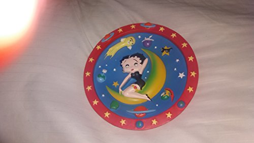 betty boop decorative plate