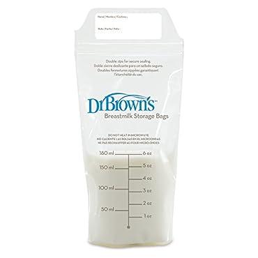 Dr. Brown's Breastmilk Storage Bag, 50 Count