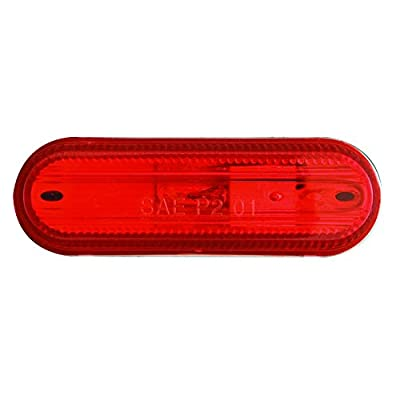 Optronics MC68RS Marker/Clearance Light, Red: Automotive
