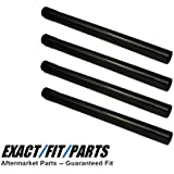(4) Vacuum Cleaner Extension Wands 1 1/4 Universal Fit for 1.25 Connections fit Shop Vac, Kirby, Eureka Mighty Mite, ShopVac