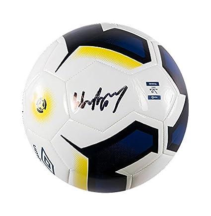 A1 Sporting Memorabilia Wayne Rooney Firmado Fútbol – Everton
