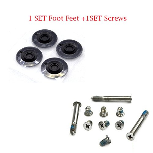 Bluecell Repair Replacement Screws for Unibody Apple Macbook Pro A1278 A1286 13 15 17 2 Sets of 10 Not for Retina Display