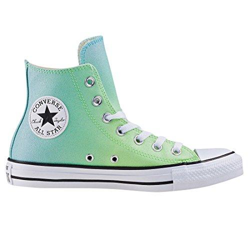 336 Converse Aqua Illusion Green Unisex Synthetic Hi Adulto Deporte de Taylor Bleached Chuck CTAS Verde Zapatillas qBfq4rZ