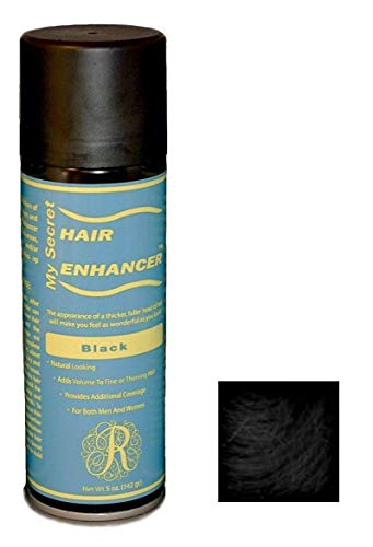 Hair Enhancer - My Secret Hair Enhancer Spray for Fine or Thinning Hair - Black 5 oz