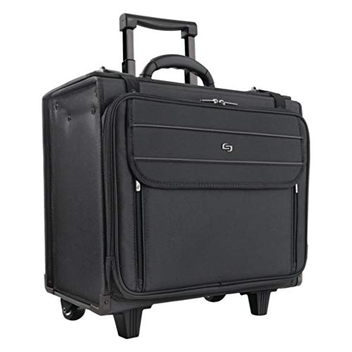 USLB1514 - Material : Ballistic Poly - Solo Ballistic Poly Rolling Laptop/Catalog Case - Each