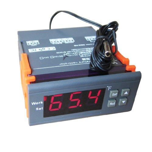 DC 12V Digital Temperature Controller Thermostat F (12 V Fan Thermostat compare prices)