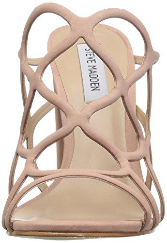 Heeled Blush Sandal Steve Carlita Madden Leather Women's fcytvq