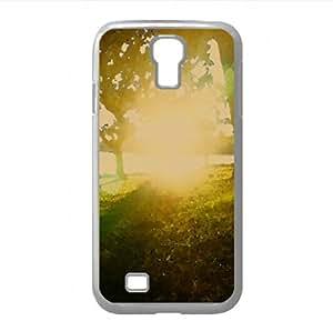 Suntset Watercolor style Cover Samsung Galaxy S4 I9500 Case (Sun & Sky Watercolor style Cover Samsung Galaxy S4 I9500 Case)
