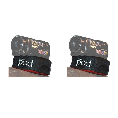 The POD 2 Pack Red Bean Bag Camera Support for Compact Cameras