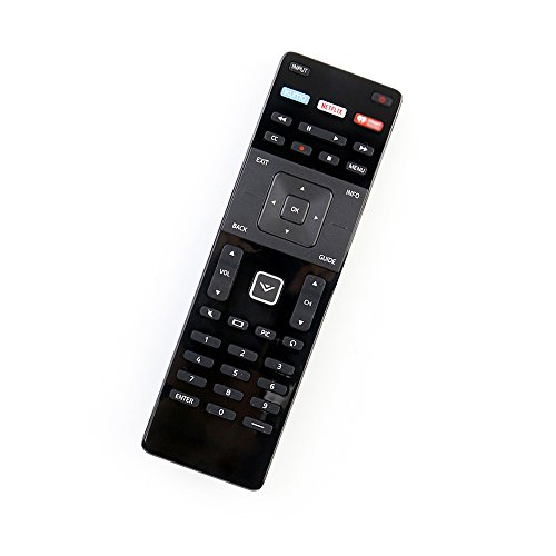 econtrolly Replaced XRT122 Remote for Vizio Smart TV D32-D1 D32H-D1 D32X-D1 D39H-D0 D40-D1 D40U-D1 D55U-D1 D58U-D3 D60-D3 E32H-C1 E40-C2 E40X-C2 E48-C2 E43-C2 E50-C1 E55-C1 E65-C3 E65X-C2 E70-C3