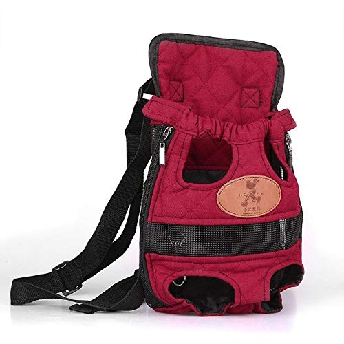 R Pet Dog Bag Puppy Pet Cat Dog Pouch Front Bag Pack Backpack Carrier Leg Pawl Aircraft Familiari Postman Tag Cad Wave Blackguard Bearer Firedog Mail Frump Toter Tail Mailman 1PCs