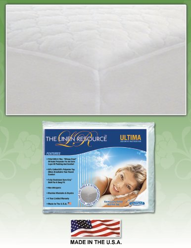 INNOMAX Ultima Custom Fit Mattress Pad, Queen