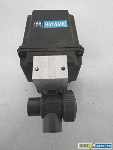 HAYWARD EA2 CDS ELECTRIC PVC THREADED 1/2 IN NPT BALL VALVE B361571 (Electric Valve Pvc)