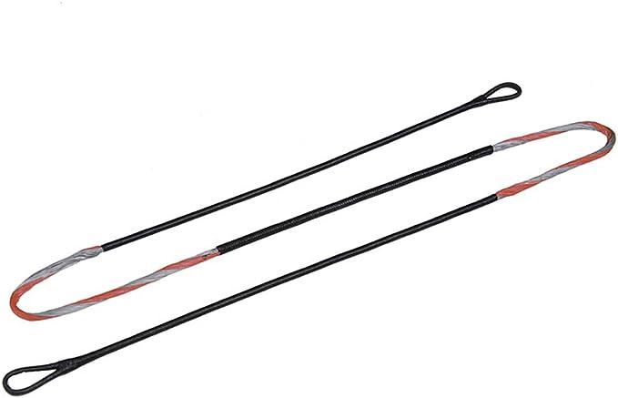 Dacron sehnengarn Rose Fluo Arc Corde Corde Arc Sport String fil 1//4 livres aide au