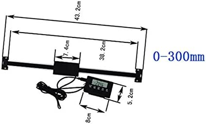 0-150mm Digital Readout DRO Remote LCD per fresatrici o torni Lettura digitale
