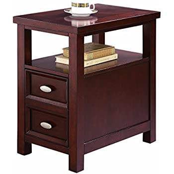 Amazon Com Winsome Morris Side Table With 2 Foldable