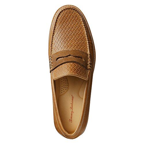 Tommy Bahama Mens Filbert Penny Loafer Tan