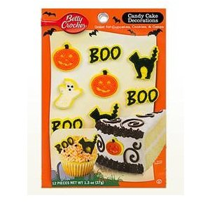 Betty Crocker Halloween Cake D_cor (12x1.3 OZ)]()