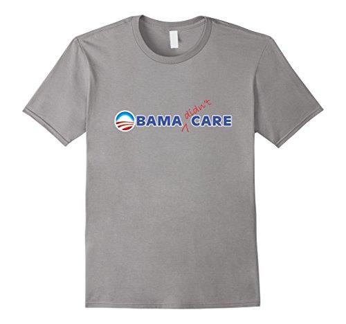 Mens OBAMA DIDNT CARE T-SHIRT Anti Obama Worst President ...