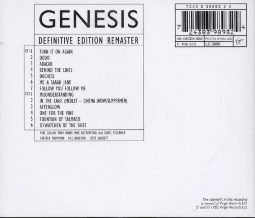 Image result for genesis three sides live