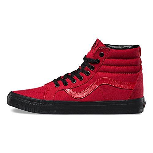 Damesschoenen Sk8-hi Heruitgave Rode / Zwarte Mode Sneakers