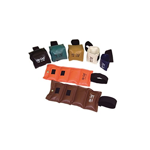 The Deluxe Cuff_ Ankle and Wrist Weight - 7 Piece Set - 1 each 1, 2, 3, 4, 5, 7.5, 10 lb. by the DELUXE Cuff_