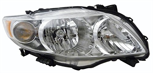 Toyota Corolla (Base,CE,LE,XLE) Replacement Headlight Assembly - Passenger ()