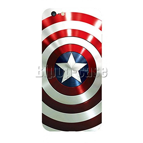 COQUE PROTECTION TELEPHONE IPHONE 6 - BOUCLIER CAPTAIN AMERICA