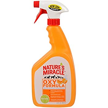 Nature's Miracle Stain & Odor Remover, Orange Oxy, Trigger Spray, 32oz (P-5749)
