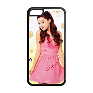 Customize American Famous Singer Ariana Grande Back Case for iphone 5C JN5C-1626