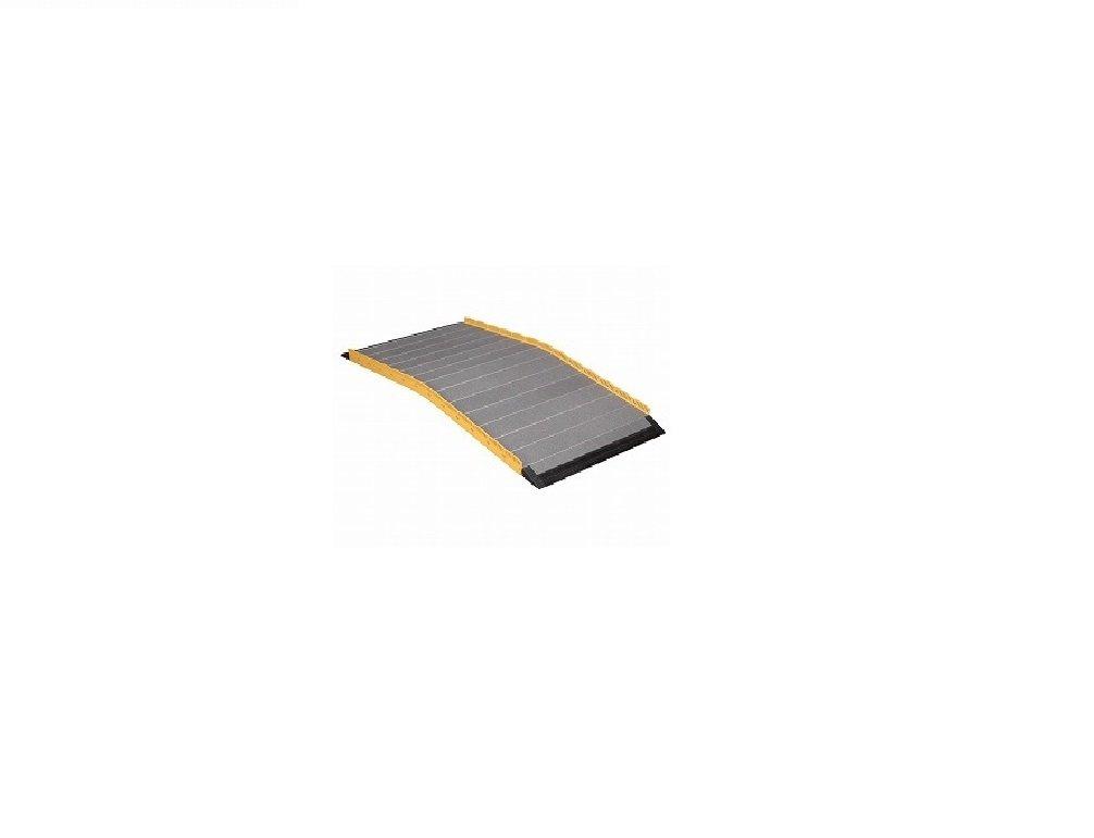 車いす用スロープ 段ないス ロールタイプ 60cm 630-060<シコク> B00XVAK6L4